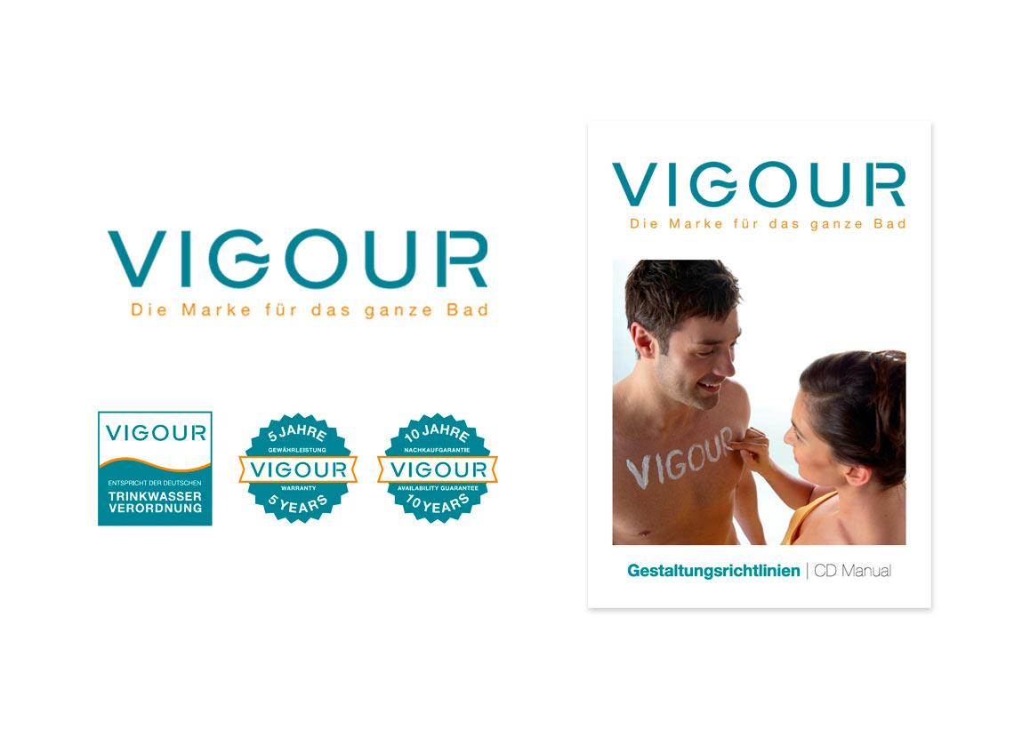 VIGOUR-Corporate Design