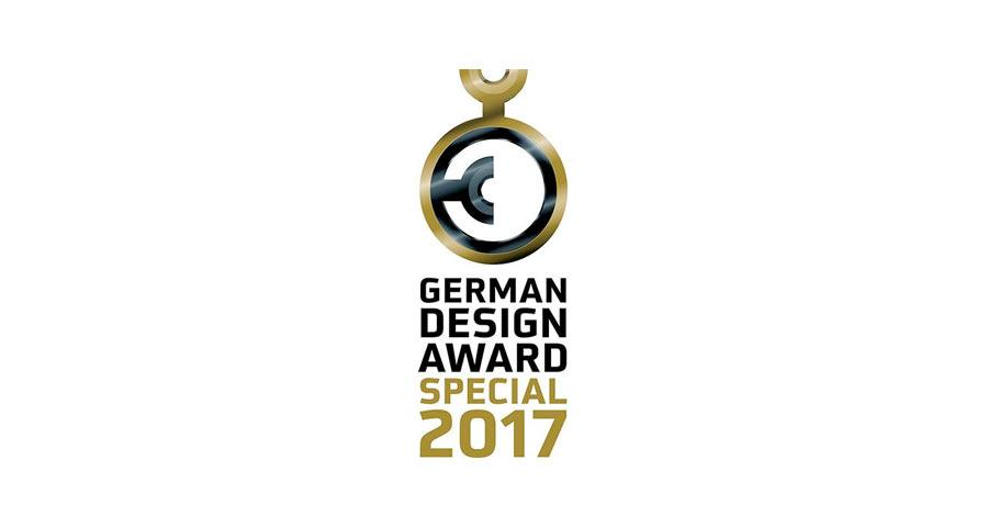 Das Siegel des German Design Awards